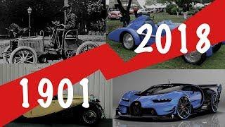 Bugatti evolution car history