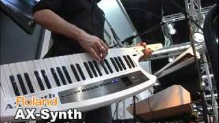Roland AX-Synth at Musikmesse 2009