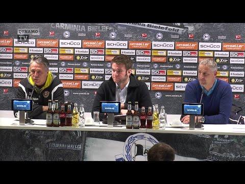 17. Spieltag | DSC - SGD | Pressekonferenz nach dem Spiel