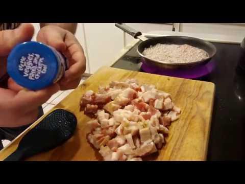 How I Make Bacon & White Cheddar Popcorn