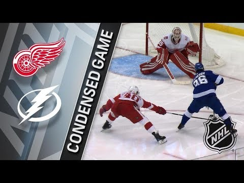 Detroit Red Wings vs Tampa Bay Lightning – Feb. 15, 2018 | Game Highlights | NHL 2017/18. Обзор