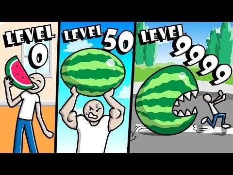BUYING LEVEL 9999 WATERMELON in Melon Simulator // Roblox