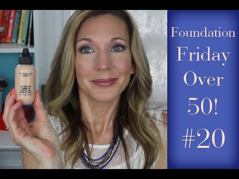 Foundation Friday Over 50 #20 | MAC Face & Body