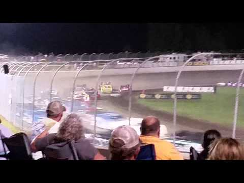 Clash at The Mag 2015 Lucas Oil Late Model Staer