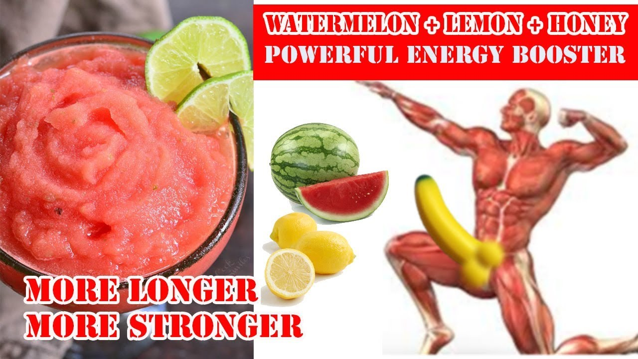 why watermelon is good for men | watermelon and lemon juice