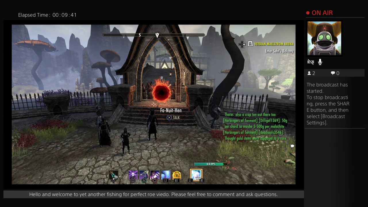 ESO vet maelstrom arena first attempt