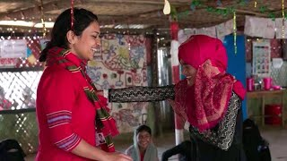 Artist helps Rohingya women face sexual violence, past and present