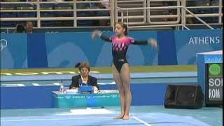 2004 Olympics Women's All Around Part 4 BBC Coverage