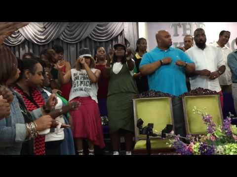 I'll Be Satisfied - Hezekiah Walker - Crusade Choir Reunion Rehearsal
