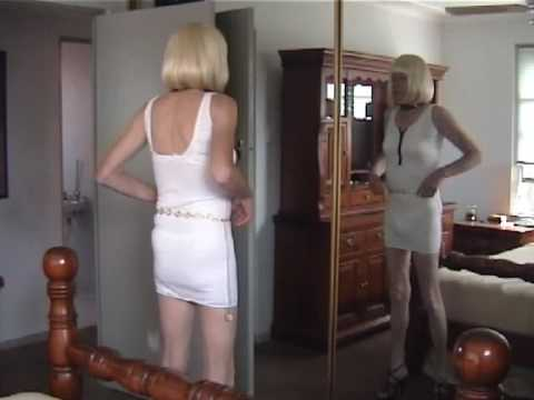 Tgirl Vanity tries on Holiday Stockings (with Skelly) from YouTube · Duration:  4 minutes 33 seconds