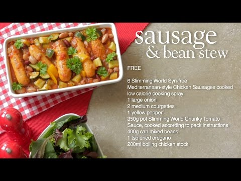 Slimming World Syn Free Sausage And Bean Stew Recipe