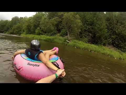 Elora Gorge River  Tubing  Experience From Start To Finish   Ontario Canada