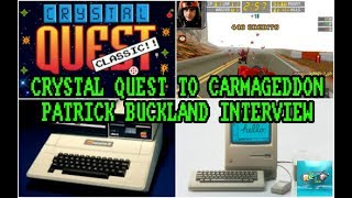Crystal Quest to Carmageddon With Patrick Buckland - The Retro Hour EP105