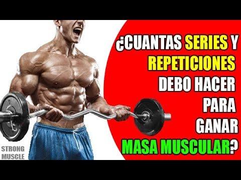 que tengo que hacer para aumentar masa muscular