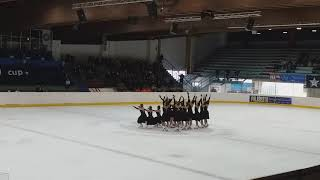 Shemchuzhina Жемчужина в Италии-Spring Cup-корот.прогр., Милан 16.02.2019