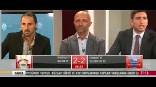 GS TVde üçüncü gol sevinci Hakemi de yeneceğiz