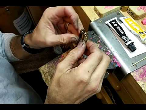 Building Up a Bronze Ring and Bronze Dog Using JB Weld