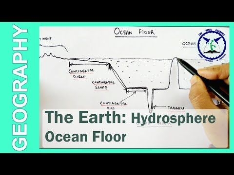 The Earth: Hydrosphere | Ocean Floor Profie | SSC Geography | by TVA