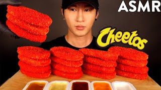 ASMR HOT CHEETOS HASH BROWNS MUKBANG (No Talking) COOKING & EATING SOUNDS | Zach Choi ASMR