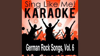 Rückenwind - Räuberzivil (Karaoke Version With Guide Melody) (Originally Performed By Heinz...