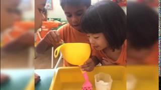 Magic Balloon Experiment|Vinegar,baking soda, and balloon| Experiment in Preschool(PLEASE SUBSCRIBE)