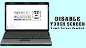 How to TURN OFF / DISABLE Touch Screen in Windows 10 - YouTube