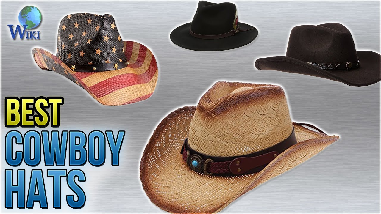 10 Best Cowboy Hats 2018 - YouTube 8fc82b4a576