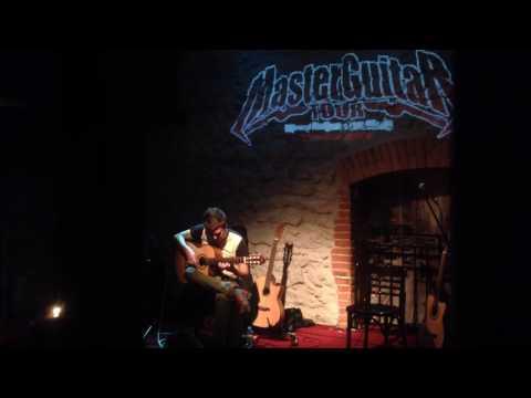 Fear of the Dark (Iron Maiden acoustic) - Thomas Zwijsen & Ben Woods - Master Guitar Tour 2016