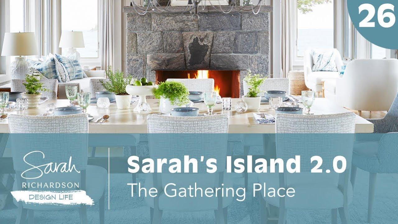 Sarah Richardson Off The Grid design life: sarah's island 2.0: the gathering place (ep. 26)