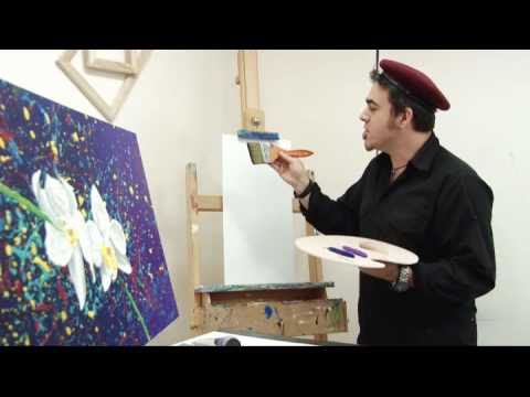 Joe For Oil >> Art Lesson: How to Paint Orchids Using Oil Painting - YouTube