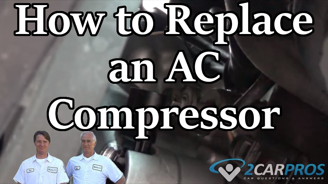 Air Conditioner Compressor Replacement Mercedes Benz C230 Kompressor Kompresor Mercy A150 Denso 2001 2007 Youtube