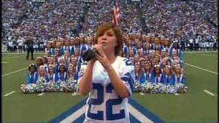 Kelly Clarkson - National Anthem - NFL