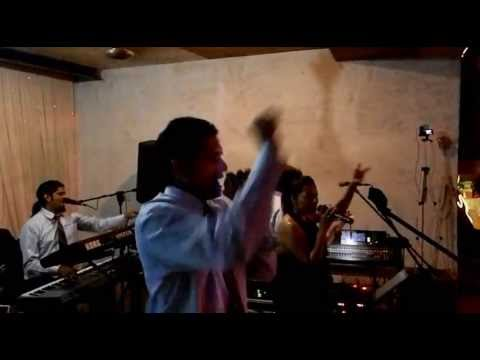 """""""Alcatrazz, Goa"""" playing Covers at a Wedding"""