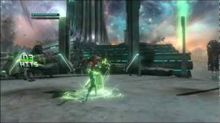 Green Lantern :Rise of the ManHunters GamePlay HD
