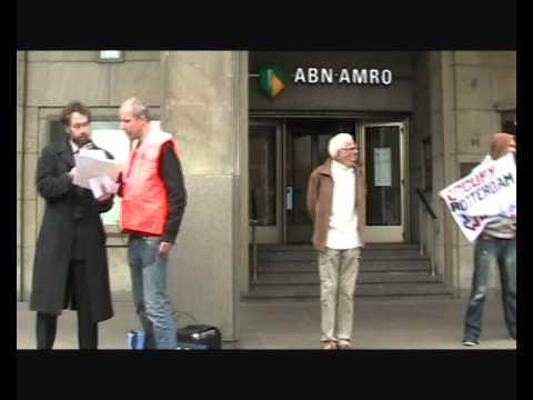 "Occupy Rotterdam's ""Bankrun"""
