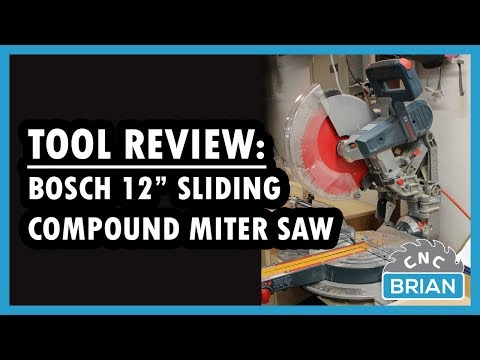 "Tool Review: Bosch 12"" GCM12SD Sliding Compound Miter Saw"