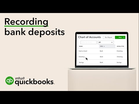 How to record a bank deposit (using undeposited funds) in QuickBooks Online