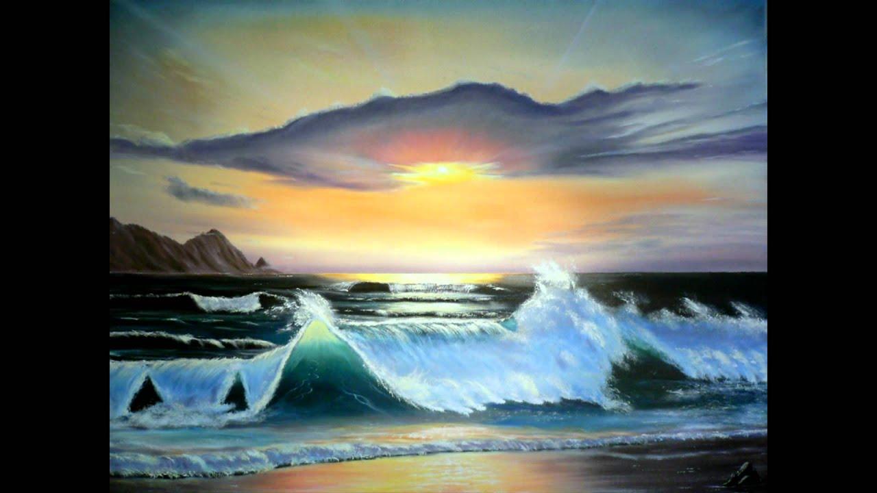 ölmalerei  Mario Bitzer - Bildergalerie Ölmalerei. - YouTube