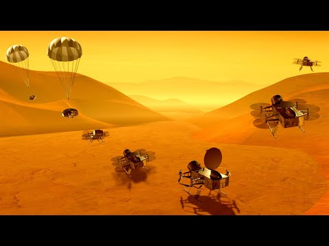 NASA's Nuclear Powered Dragonfly Is Going To Titan!