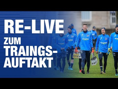 RE-LIVE TRAININGSAUFTAKT - Hertha BSC - Berlin - 2018 #hahohe