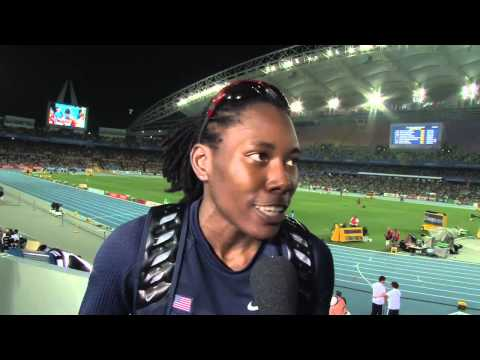 From The Daegu 2011 Mixed Zone: Brittney Reese USA