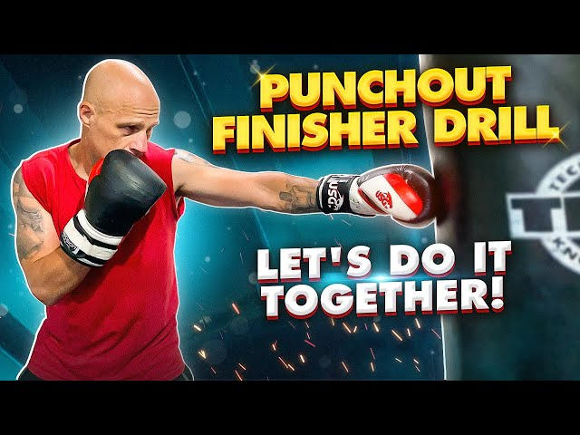 Build Stamina in Boxing with this Punchout Finisher Drill   Let's do it together!