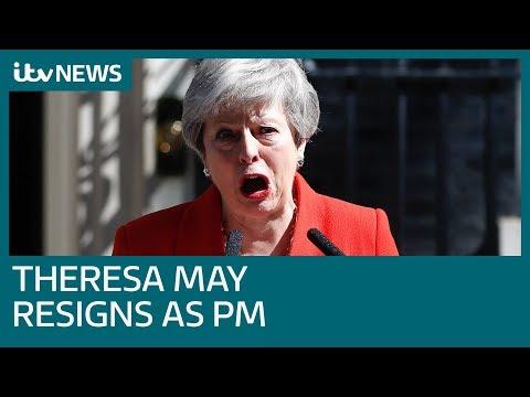 Robert Peston talks through Theresa May's resignation | ITV News