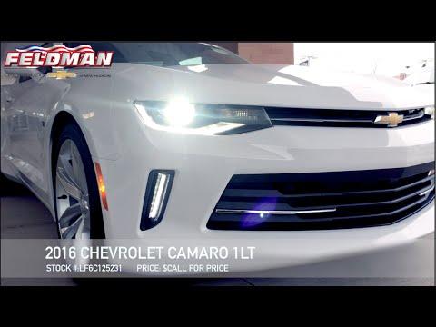 2016 camaro lt new hudson mi lf6c125231 youtube. Black Bedroom Furniture Sets. Home Design Ideas
