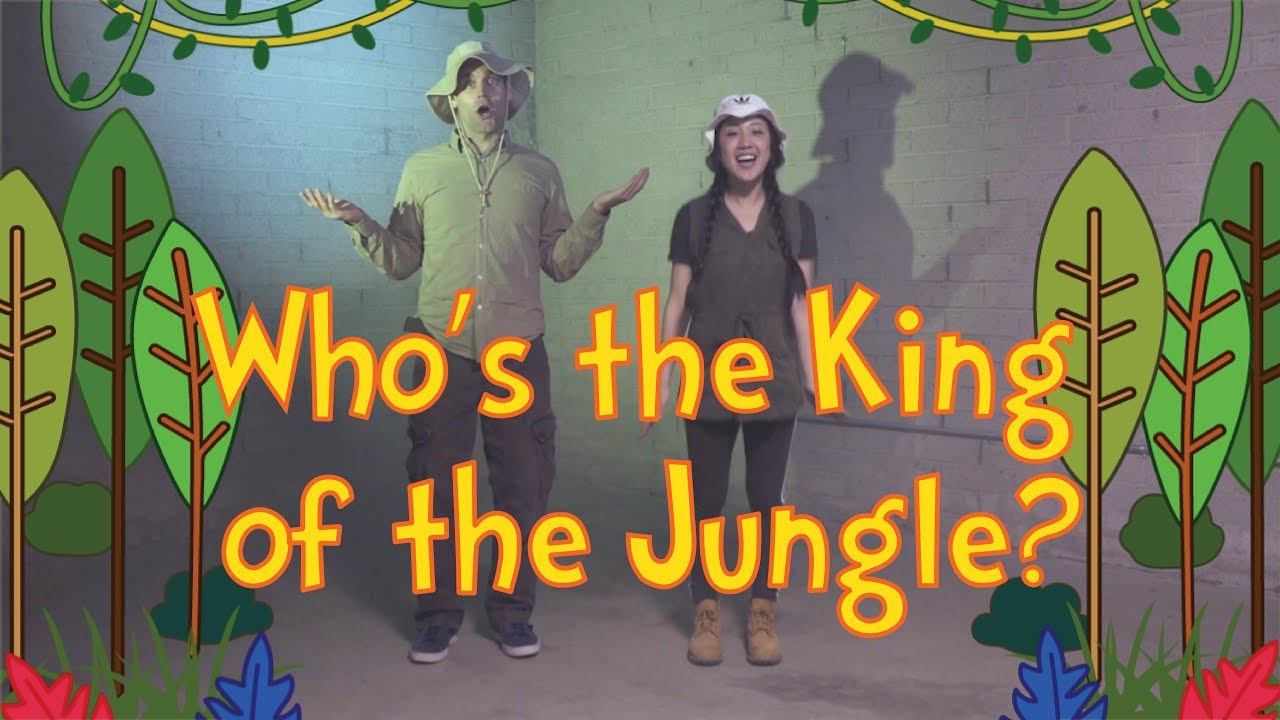 King of the Jungle | Dance-A-Long with Lyrics | Kids Worship