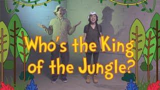 Скачать King Of The Jungle Dance A Long With Lyrics Kids Worship