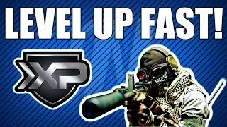 "COD Ghosts: LEVEL UP FAST! New Game Mode ""Reinforce"""