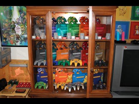 Nintendo 64 Display Cabinet Updated
