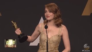 Emma Stone Reacts to Oscars Best Picture Mix-up | ABC News