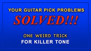 A Solution For All Guitar Pick Problems Is Here!